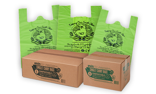 Compostable Singlet Bags